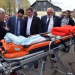 Rede von Antonios Antoniadis, Minister für Gesundheit, Familie und Soziales anlässlich der Eröffnung der neuen Unterkunft der Lokalsektion Bütgenbach-Büllingen des Roten Kreuzes