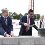 Hof Bütgenbach: Grundstein für Anbau ist gelegt