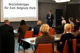 Infoveranstaltung zur Betriebskrippe im East Belgium Park