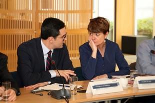 Wohnungsbau: Antoniadis und De Bue treffen Bürgermeister