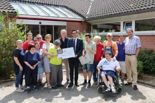 2.690 Euro für Gartenprojekt der Tagesstätte Hergenrath