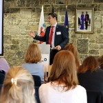 Veranstaltung zum Thema Menschenhandel und Diskriminierung