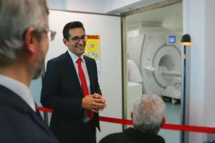 Einweihung des MRT Gerätes: ein wahrer Meilenstein!