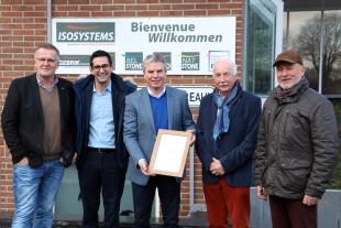 Isosystems erhält Inklusionspreis der Deutschsprachigen Gemeinschaft