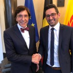 Austausch zwischen Antoniadis und Di Rupo